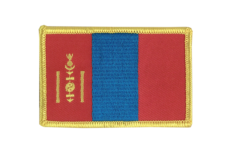 Flag Patch Mongolia