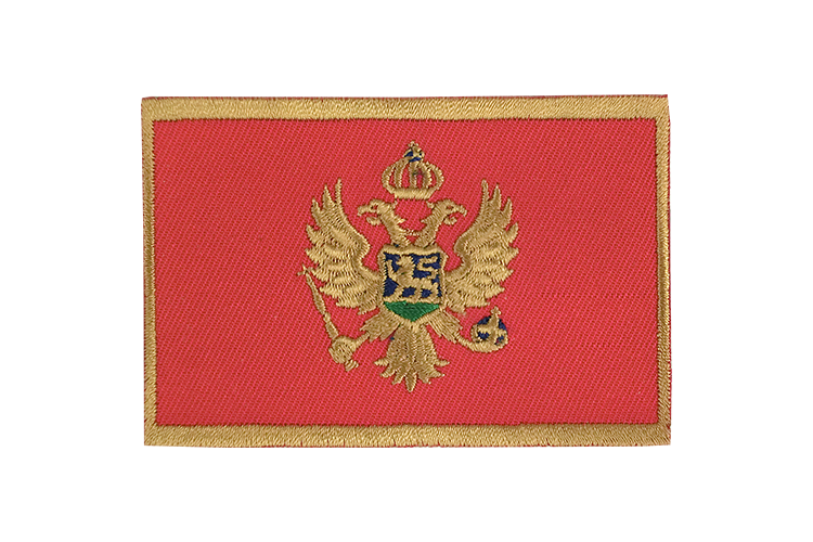 Montenegro Flag Patch