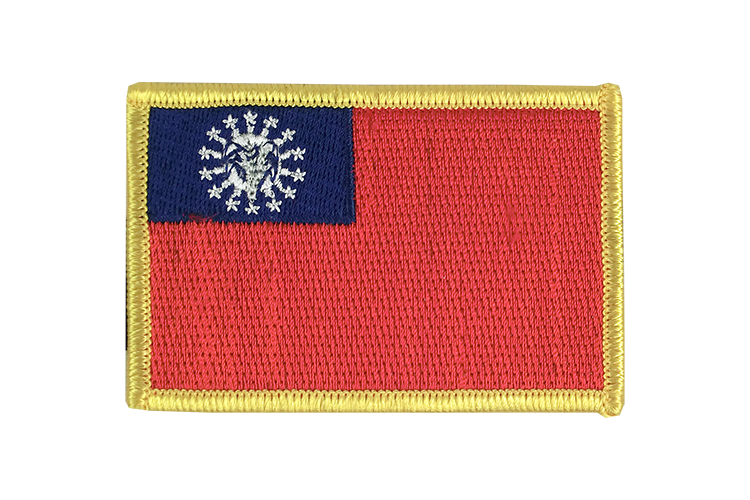 Flag Patch Myanmar 1974-2010