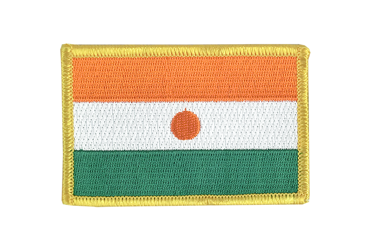 Niger Flag Patch