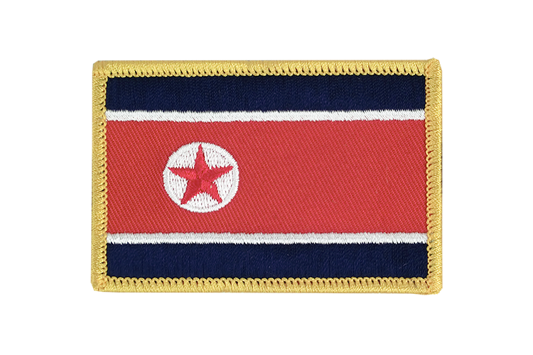 Flag Patch North corea
