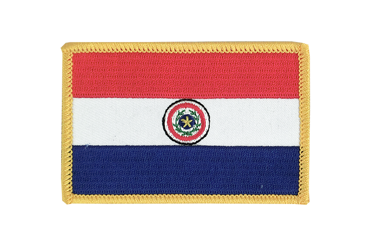 Flag Patch Paraguay