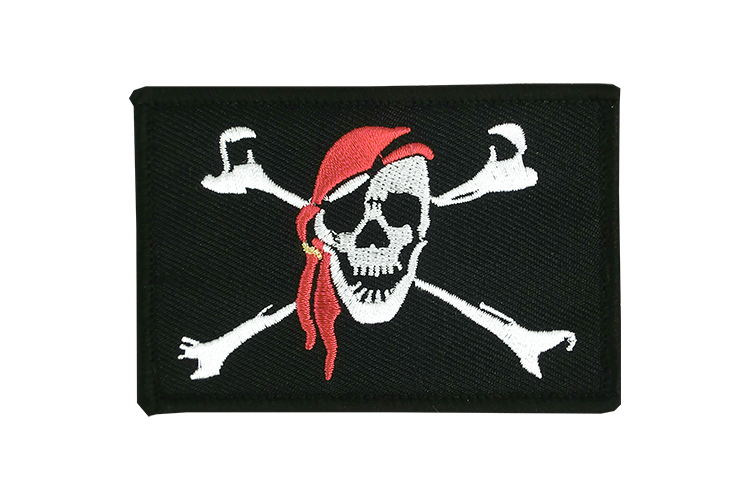 Flag Patch Pirate with bandana