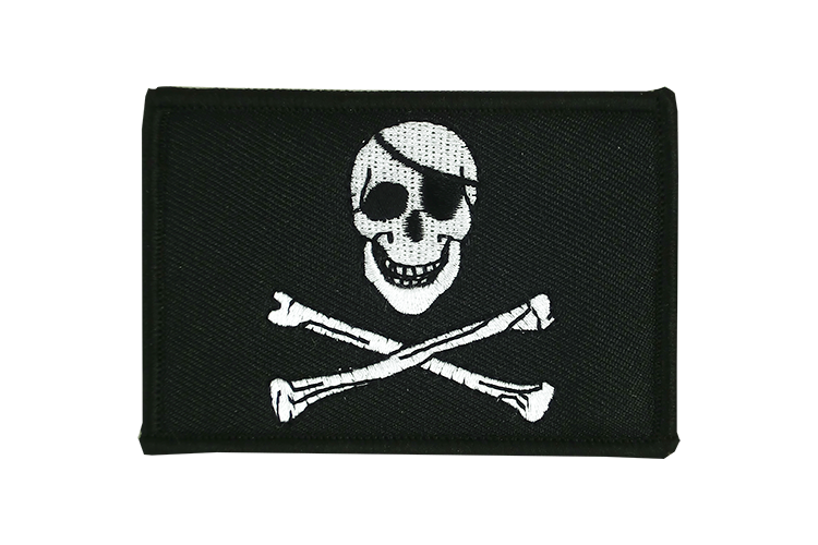 Flag Patch Pirate Skull and Bones