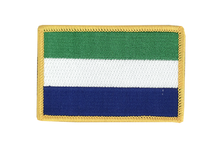 Flag Patch Sierra Leone