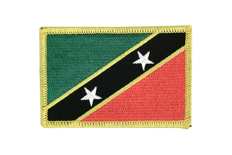 Saint Kitts and Nevis Flag Patch