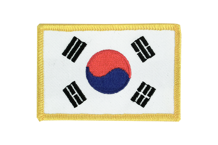 South Korea Flag Patch