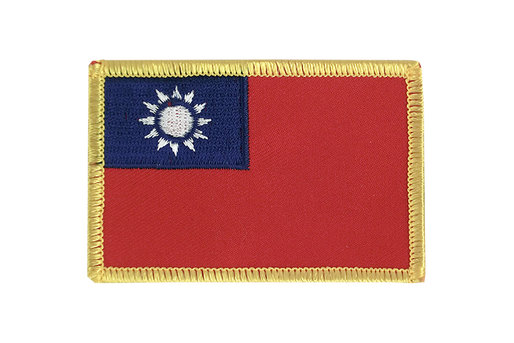 Taiwan Flag Patch