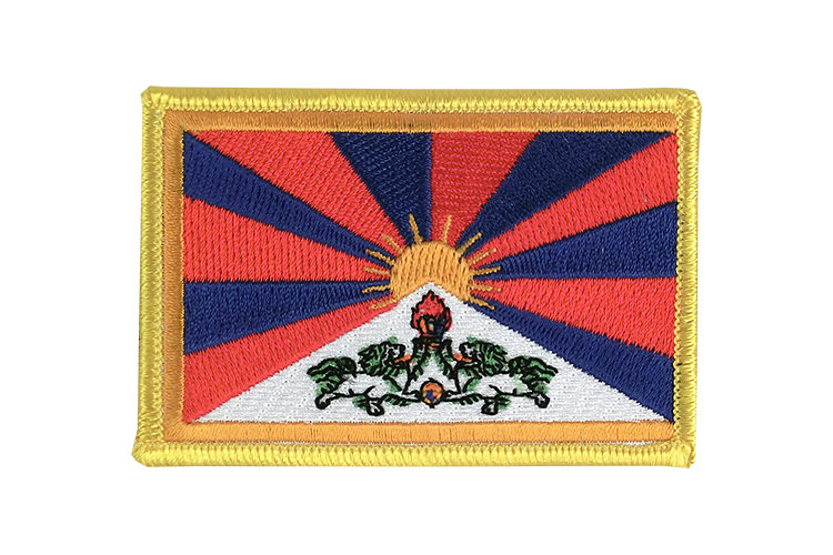 Tibet Flag Patch