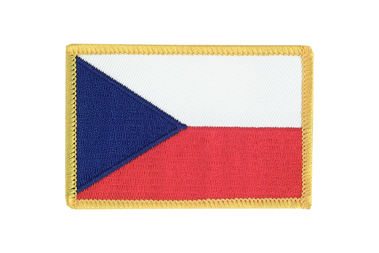 Flag Patch Czech Republic