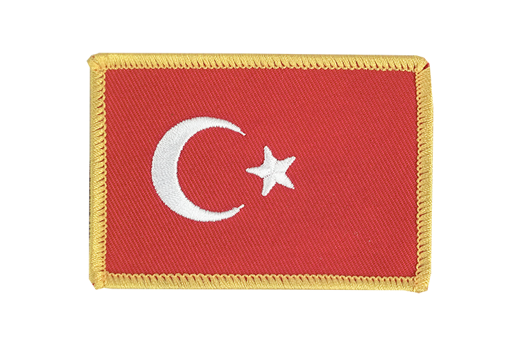 Flag Patch Turkey