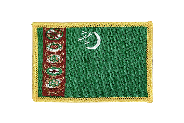 Flag Patch Turkmenistan