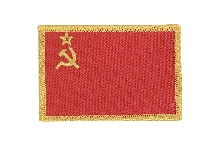 Flag Patch USSR Soviet Union