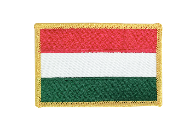 Hungary Flag Patch