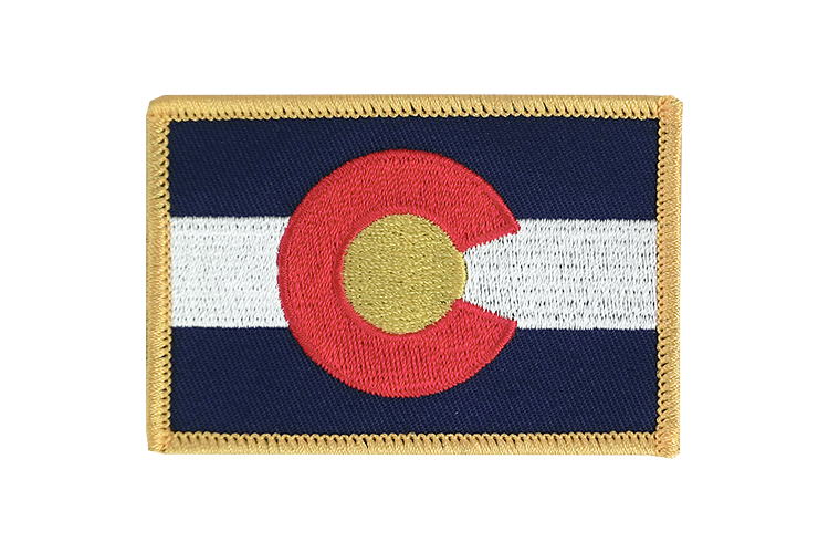 Flag Patch Colorado