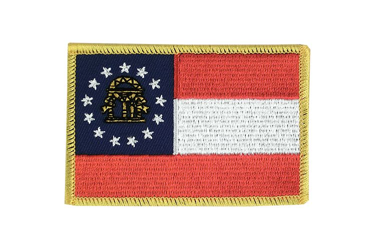 Georgia Flag Patch