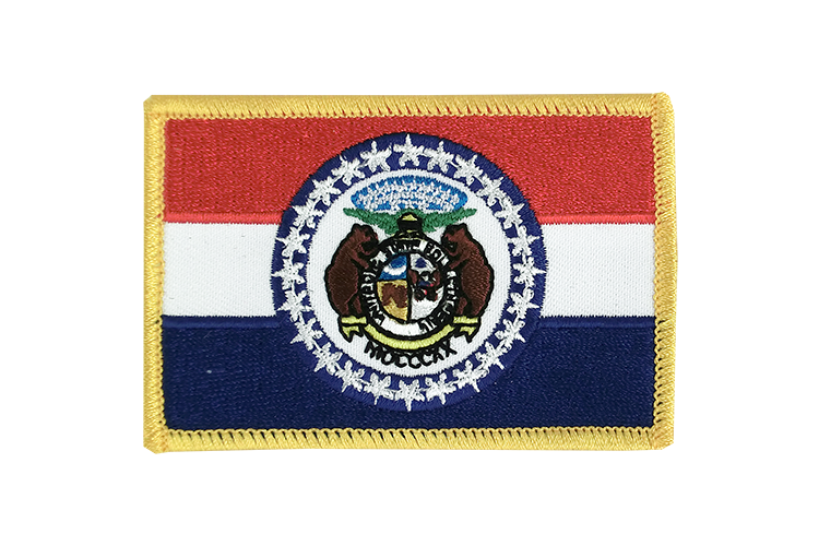 Flag Patch Missouri