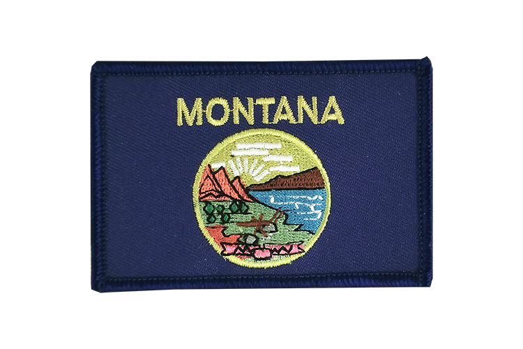 Montana Flag Patch