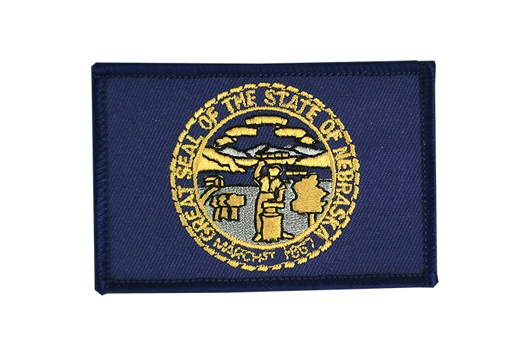 Flag Patch Nebraska