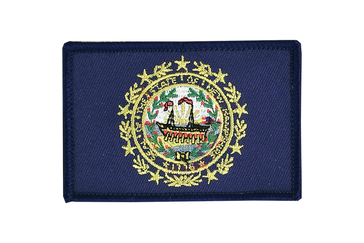 Flag Patch New Hampshire