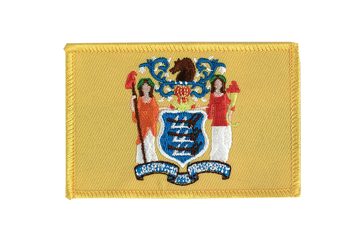 New Jersey Flag Patch