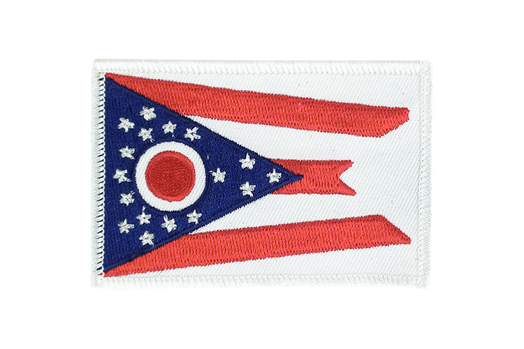 Flag Patch Ohio