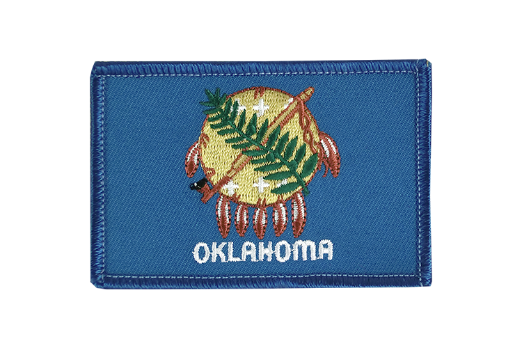 Oklahoma Flag Patch