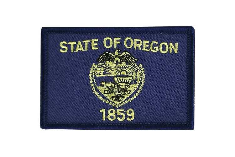 Flag Patch Oregon