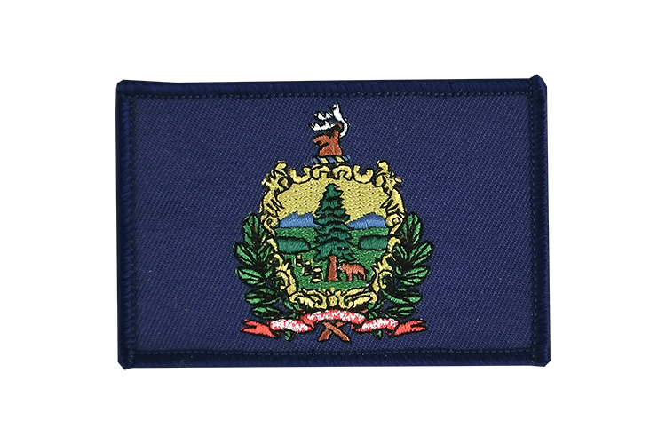 Flag Patch Vermont