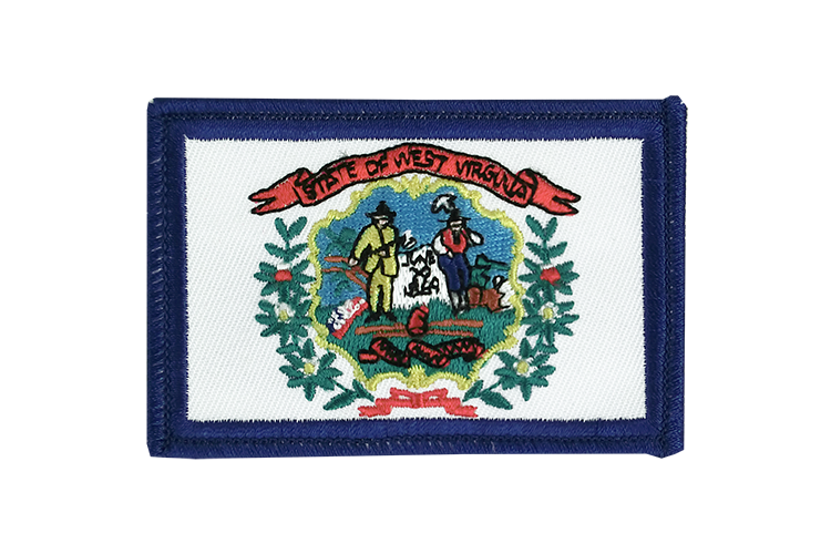 Flag Patch West Virginia