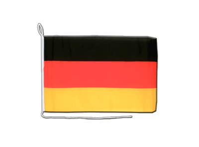Boat Flag Germany - 12x16""