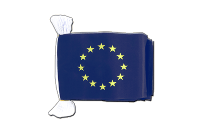 Flag Bunting European Union EU - 6x9""