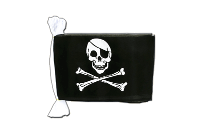 Guirlande fanion Pirate 15 x 22 cm