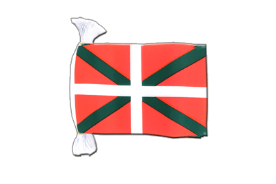 Flag Bunting Basque country - 6x9""