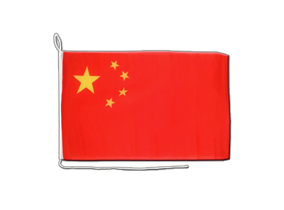 Boat Flag China - 12x16""