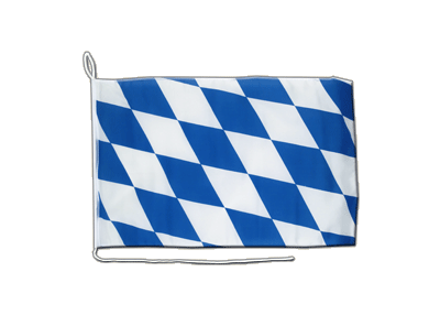 Boat Flag Bavaria without crest - 12x16""