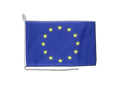 Boat Flag European Union EU - 12x16""