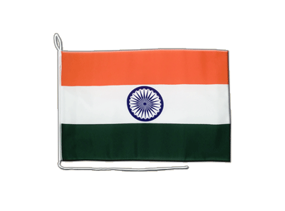 Indien - Bootsflagge 30 x 40 cm
