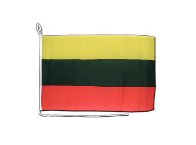Lithuania Boat Flag - 12x16""