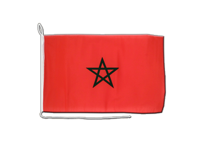 Boat Flag Morocco - 12x16""