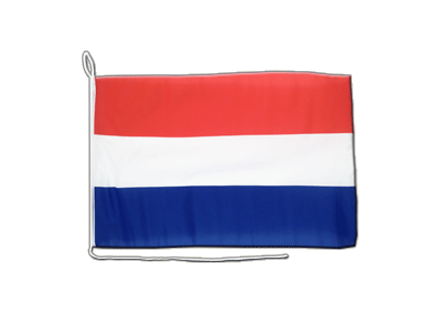 Boat Flag Netherlands - 12x16""