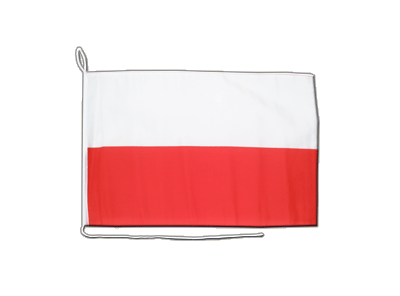 Poland Boat Flag 12x16""