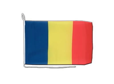 Boat Flag Rumania - 12x16""