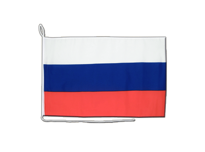 Russland - Bootsflagge 30 x 40 cm