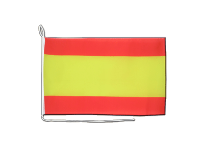 Boat Flag Spain without crest - 12x16""