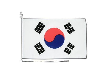 Boat Flag South Korea - 12x16""