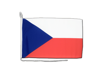 Boat Flag Czech Republic - 12x16""