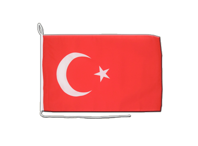 Boat Flag Turkey - 12x16""