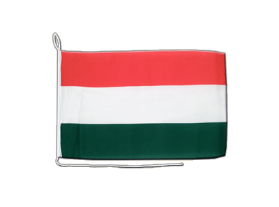 Boat Flag Hungary - 12x16""