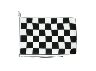 Boat Flag Checkered - 12x16""